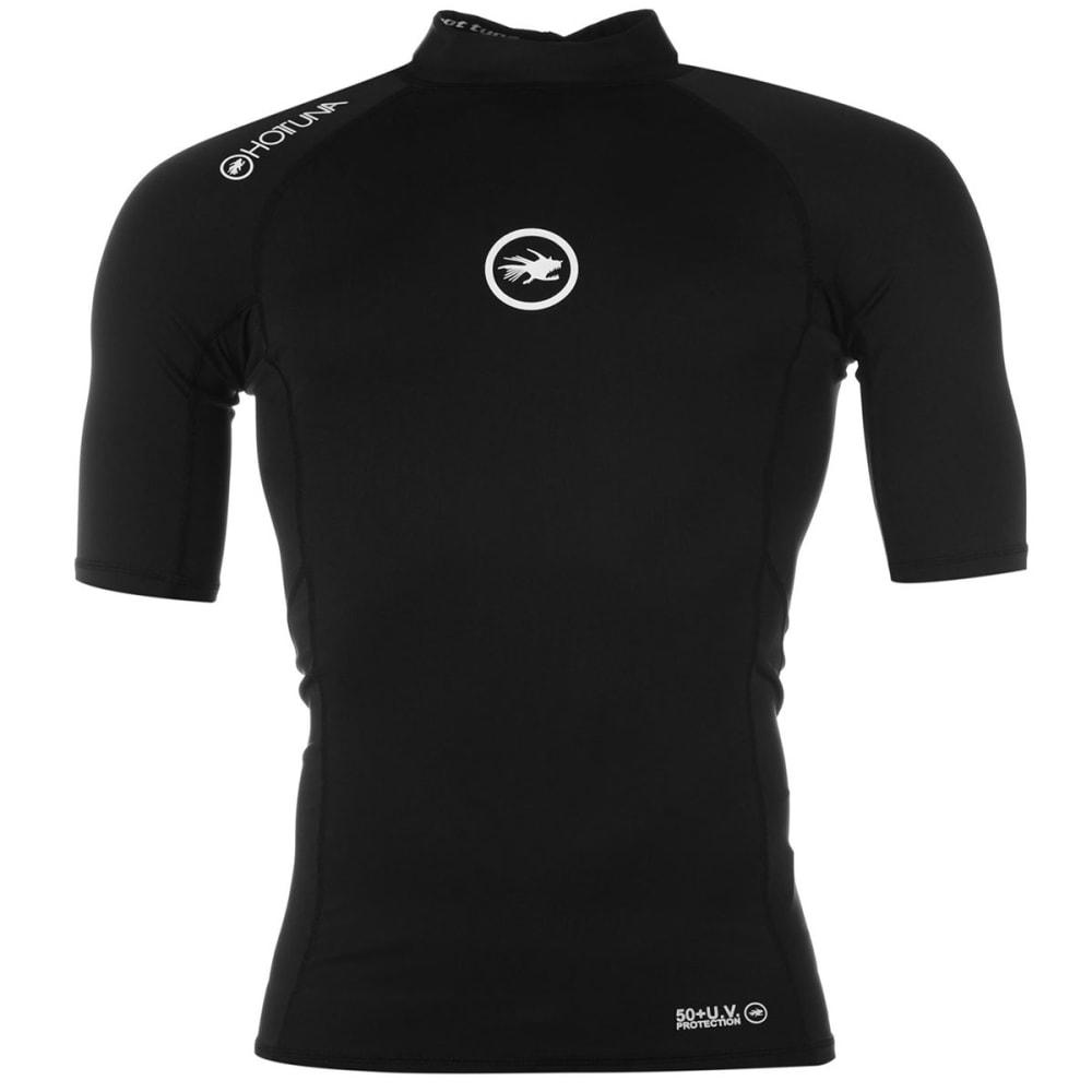 HOT TUNA Men's Short-Sleeve Rash Tee - BLACK