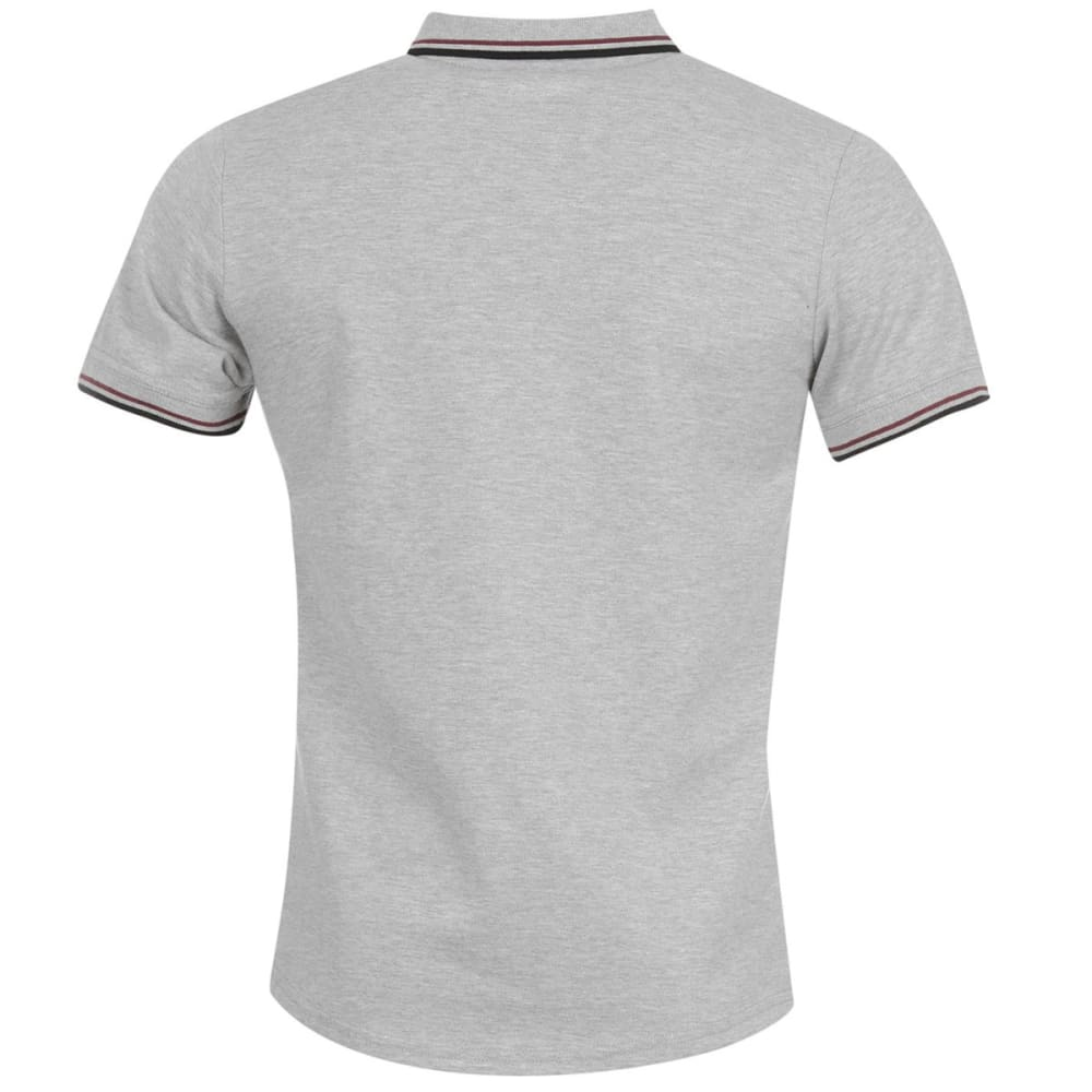 FIRETRAP Men's Lazer Slim Fit Polo Short-Sleeve Shirt - GREY MARL
