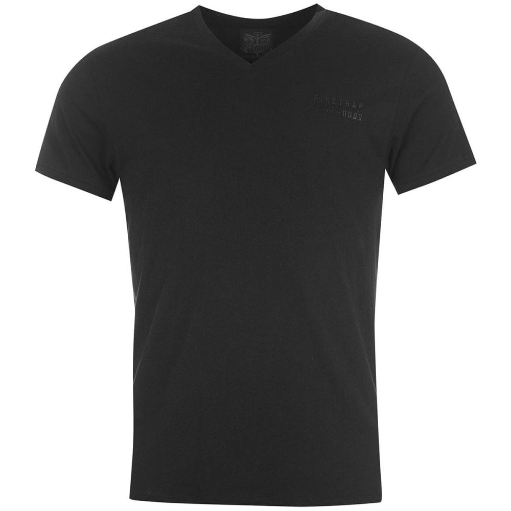 FIRETRAP Men's Path Short-Sleeve Tee - BLACK