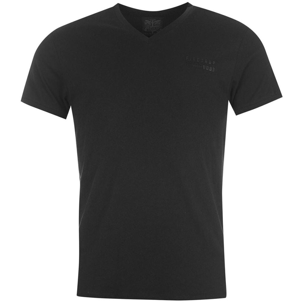 FIRETRAP Men's Path Short-Sleeve Tee - BLACK
