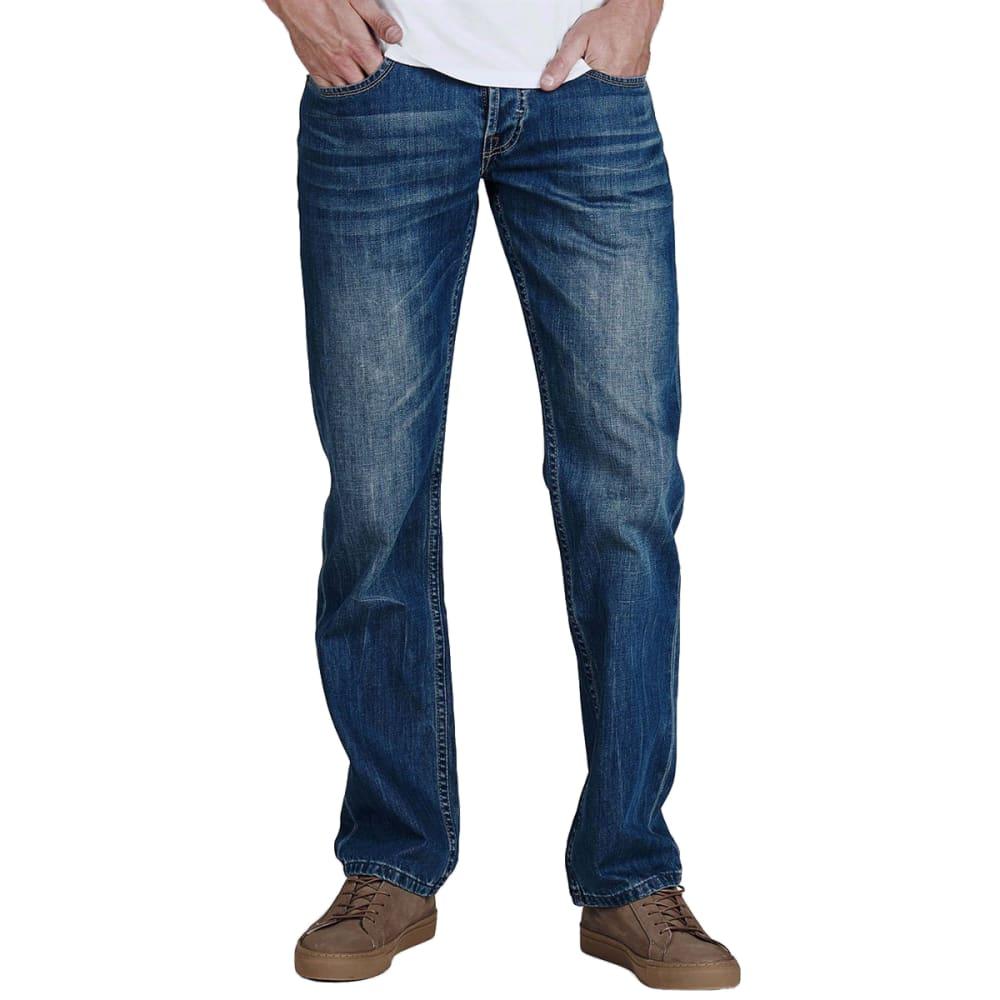 FIRETRAP Men's Leather Belt Jeans 32/32