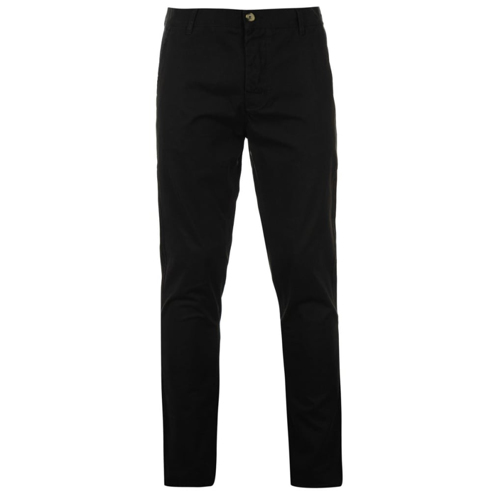 KANGOL Men's Chino Pants - BLACK