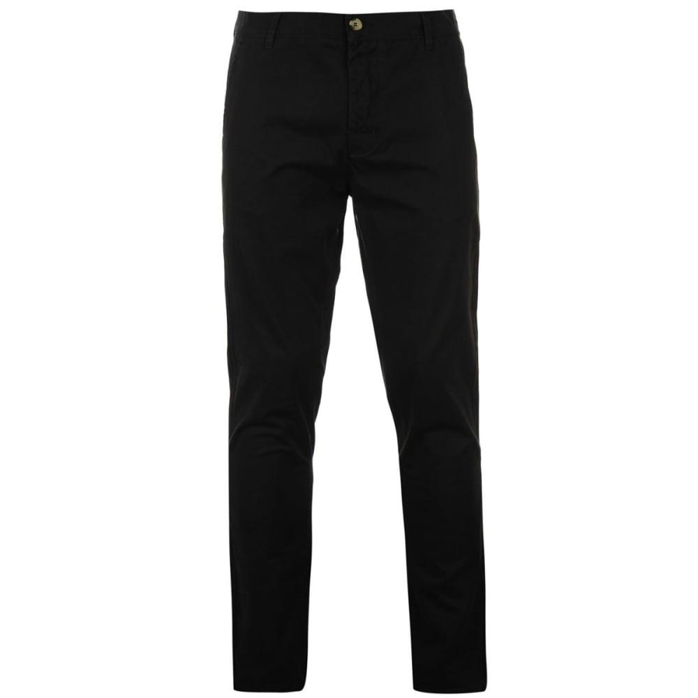 KANGOL Men's Chino Pants - BLACK
