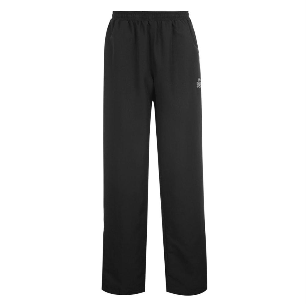 LONSDALE Men's Open-Hem Woven Pants - BLACK