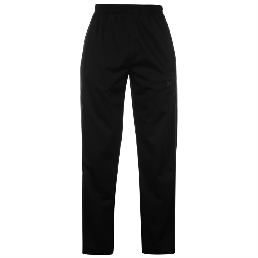 LONSDALE Men's Track Pants - BLACK/CHARCOAL