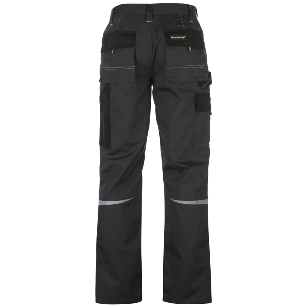 DUNLOP Men's Craft Work Pants - BLACK/CHARCOAL