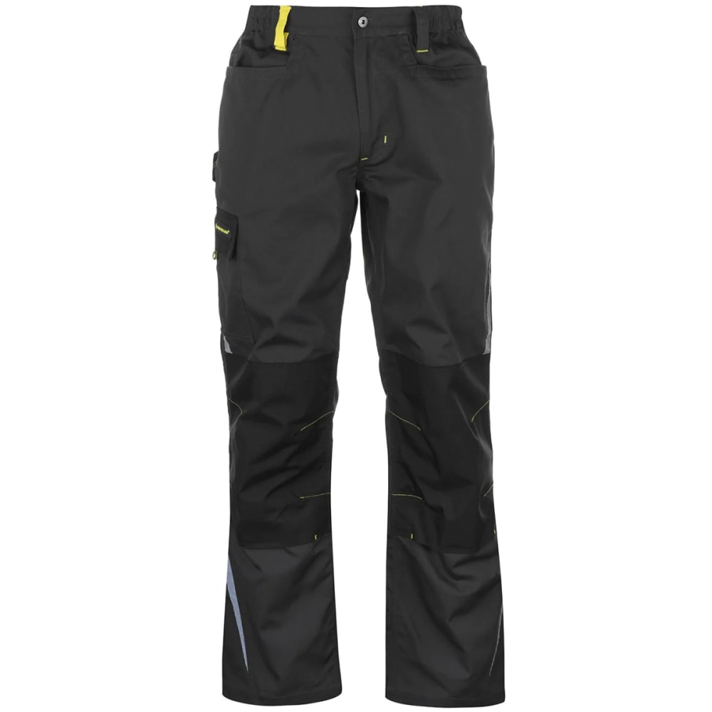 DUNLOP Men's Craft Work Pants - BLACK/CHARCOAL