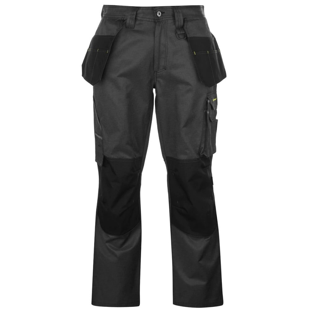 DUNLOP Men's Marathon Work Pants - BLACK/CHARCOAL