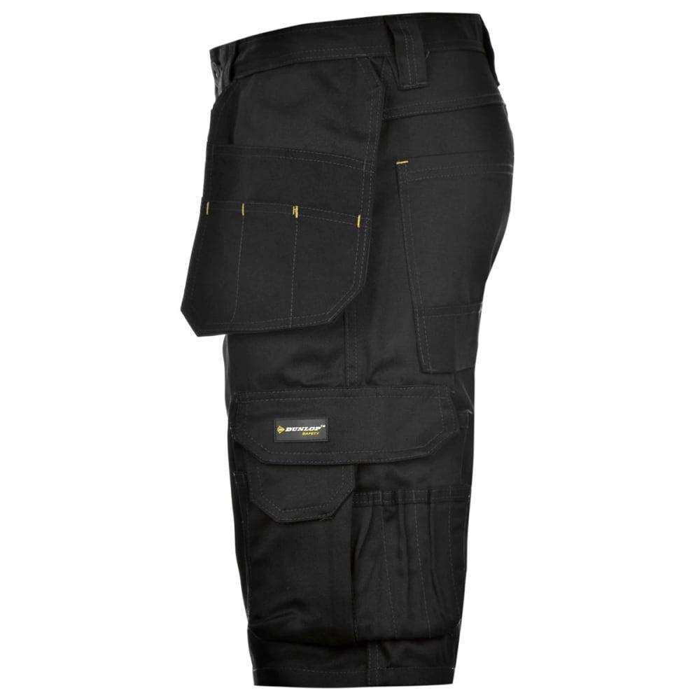 DUNLOP Men's On-Site Work Shorts - BLACK