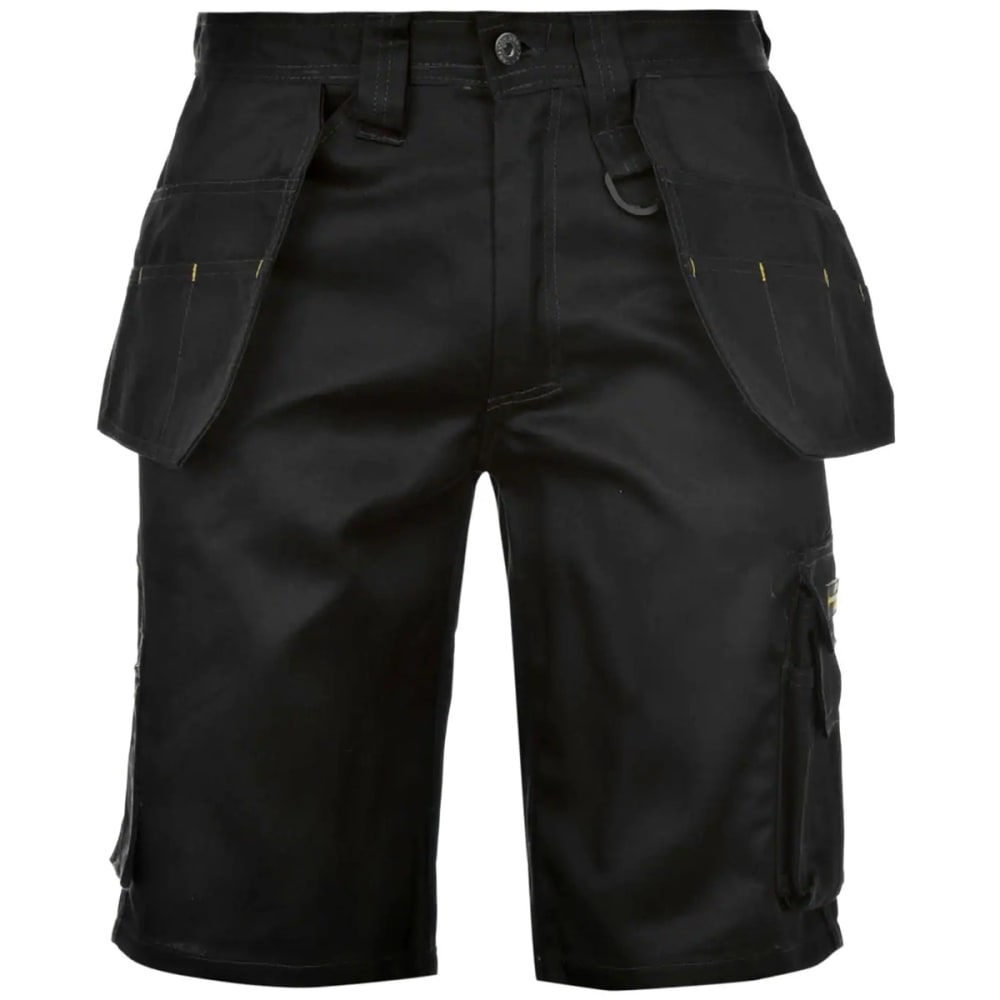 DUNLOP Men's On-Site Work Shorts - BLACK