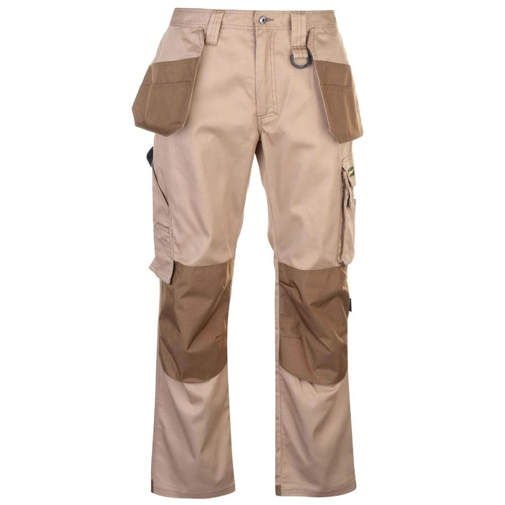 DUNLOP Men's On-Site Work Pants - BEIGE