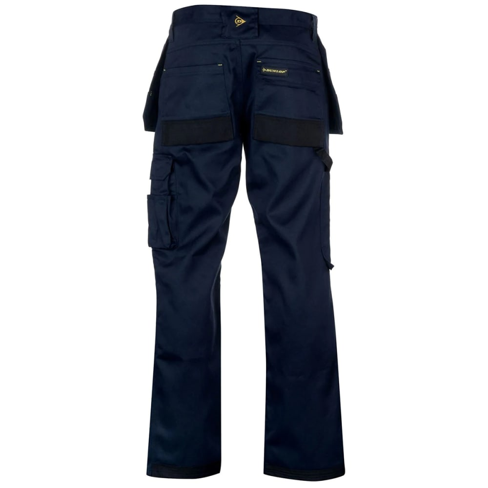 DUNLOP Men's On-Site Work Pants - NAVY/BLACK