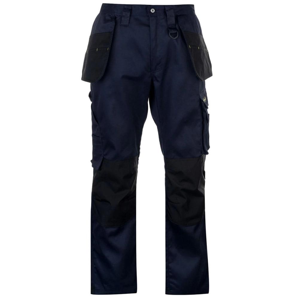 DUNLOP Men's On-Site Work Pants - NAVY/BLACK