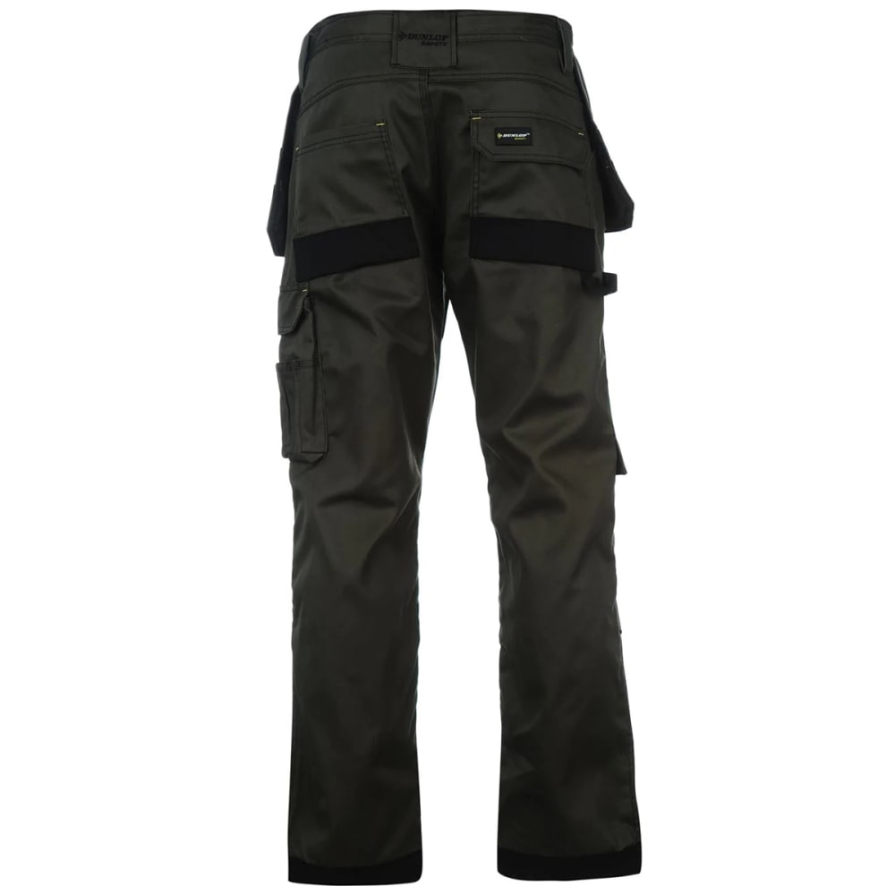 DUNLOP Men's On-Site Work Pants - KHAKI