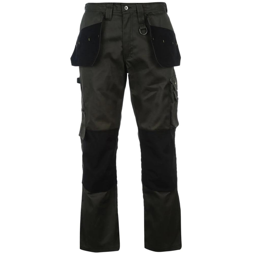 DUNLOP Men's On-Site Work Pants - KHAKI