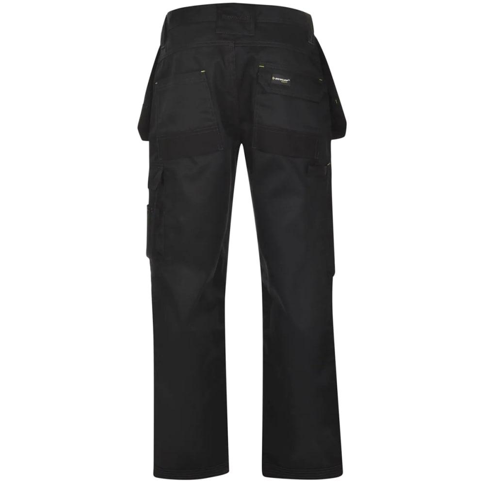 DUNLOP Men's On-Site Work Pants - BLACK