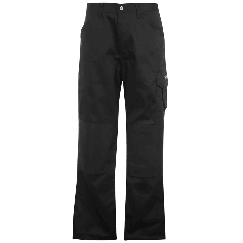 Dunlop Men's Work Pants - Black, 4XL