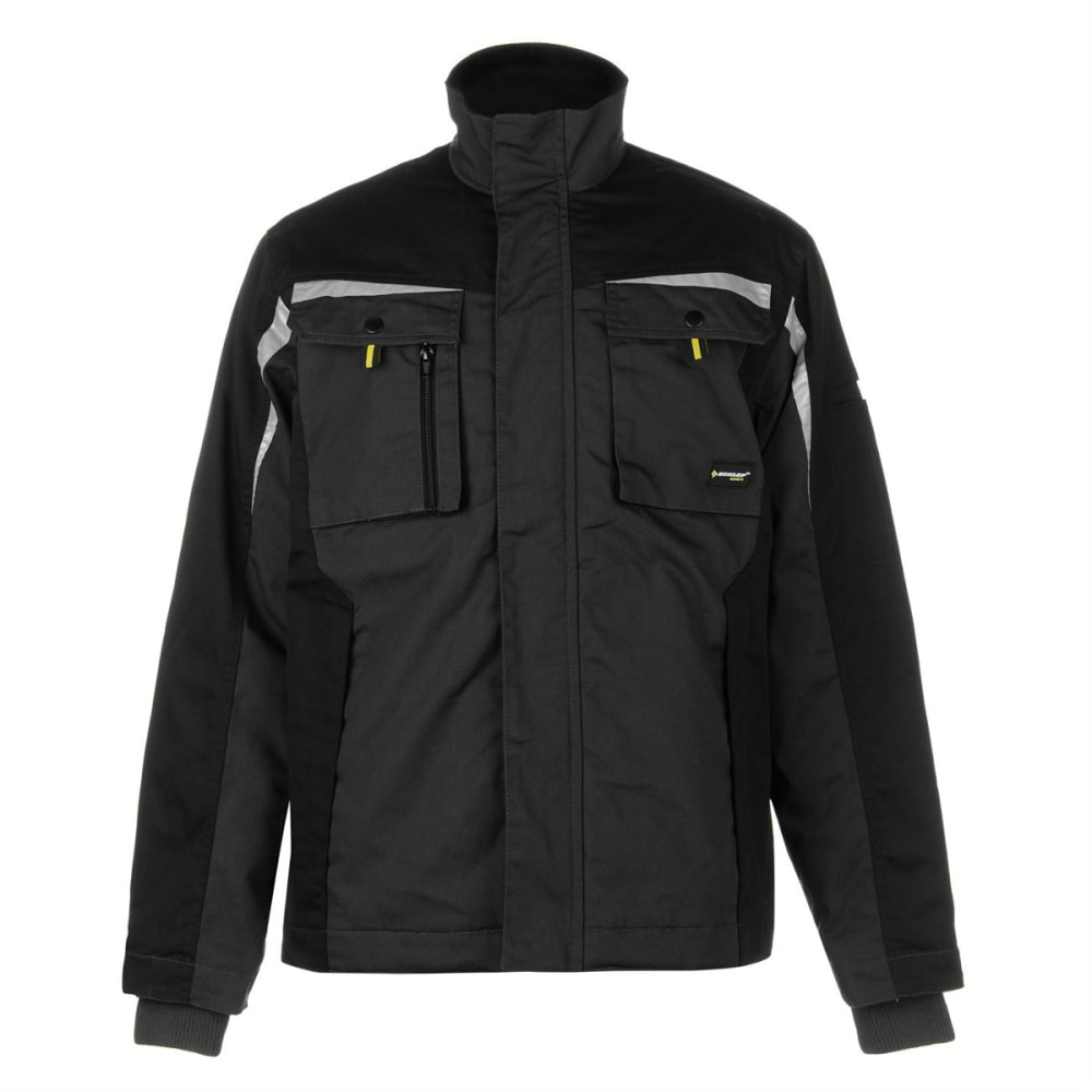 DUNLOP Men's Craft Warm Jacket - BLACK/CHARCOAL