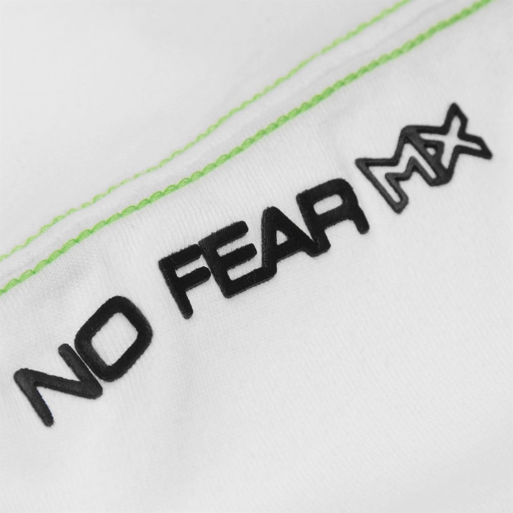 NO FEAR Boys' Core Graph Short-Sleeve Tee - WHITE