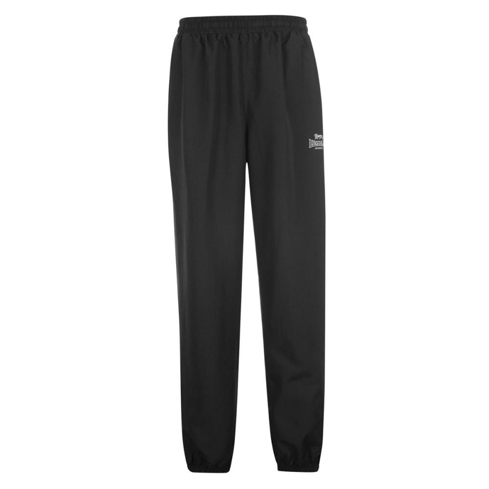 LONSDALE Boys' Closed-Hem Woven Pants - BLACK