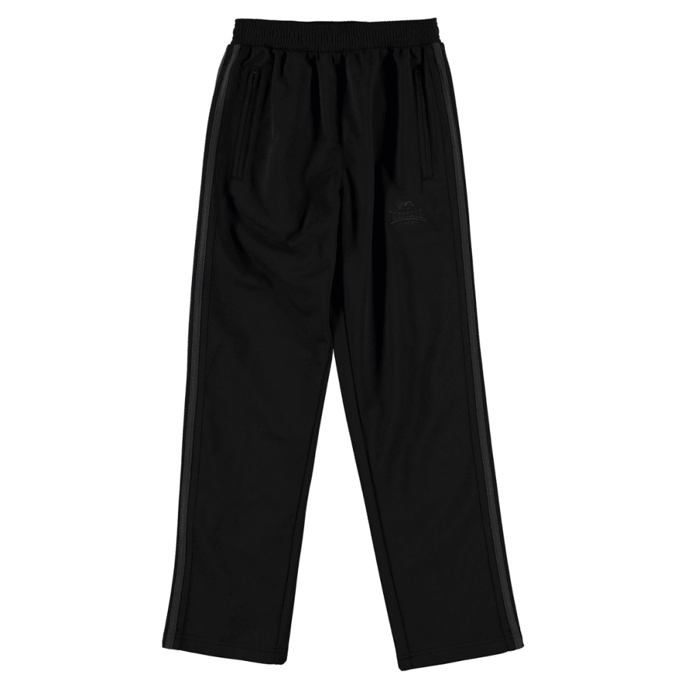 LONSDALE Boys' Track Pants - BLACK/CHARCOAL