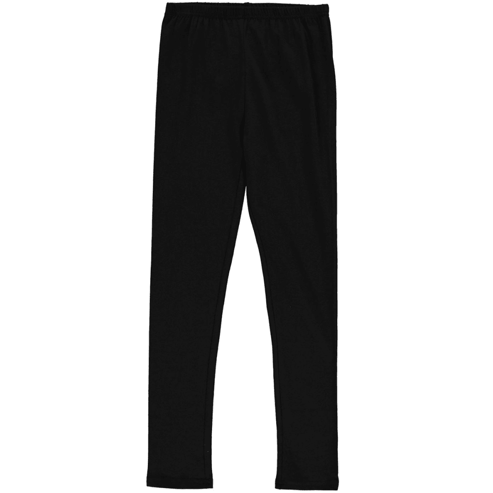 MISO Big Girls' Classic Leggings - BLACK