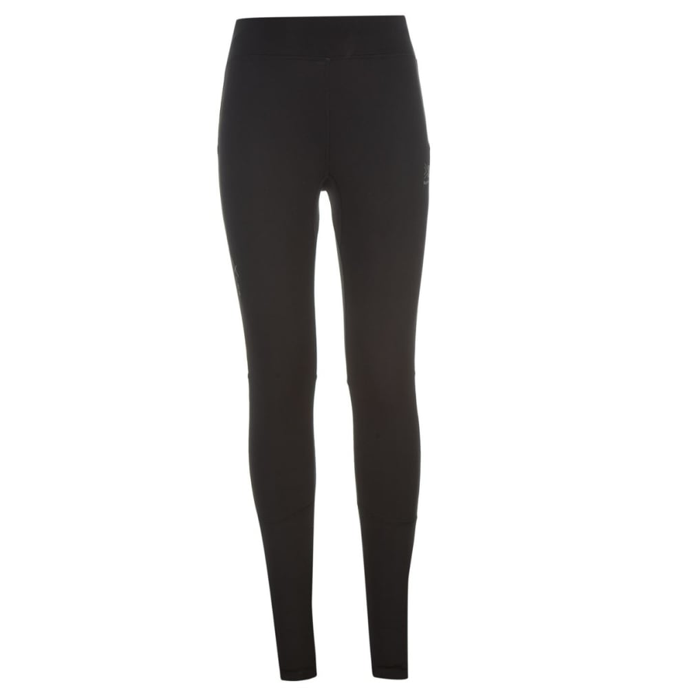 KARRIMOR Girls' XLite Running Tights - BLACK