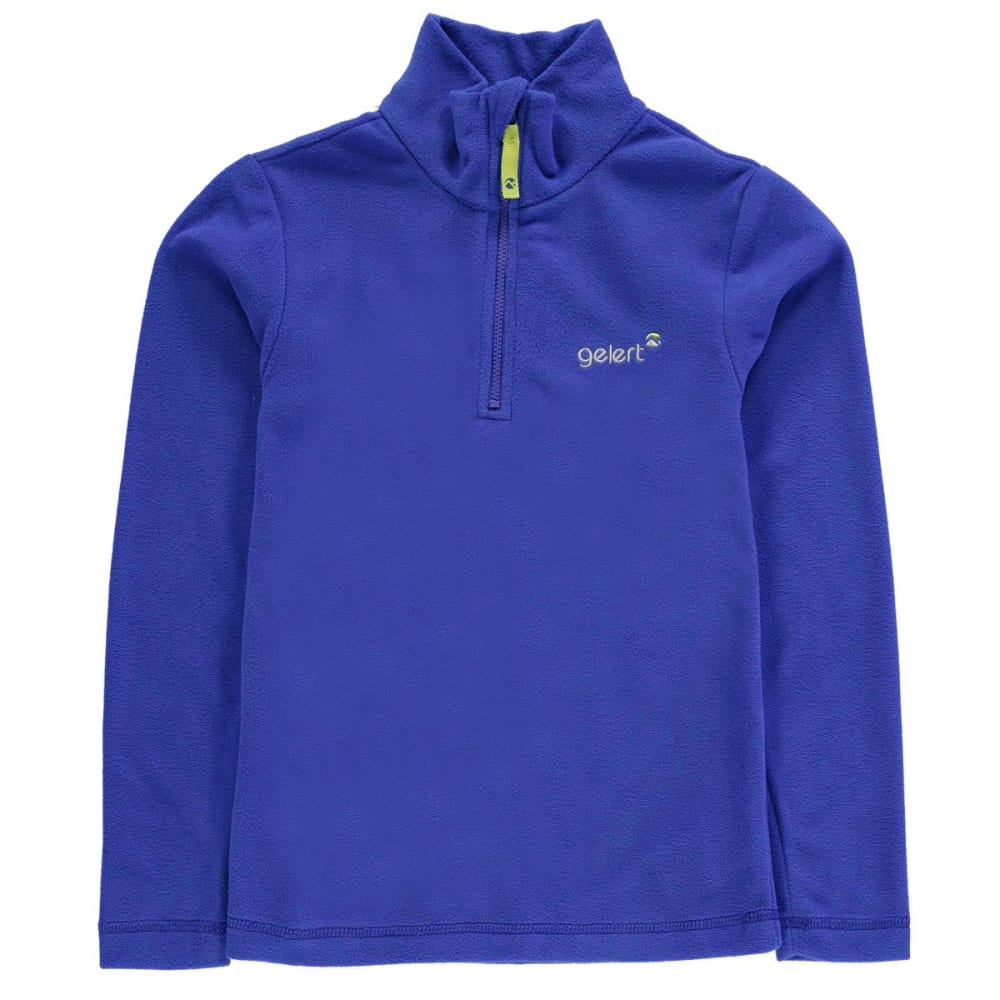 GELERT Boys' Atlantis Fleece 1/4 Zip Pullover 7-8X