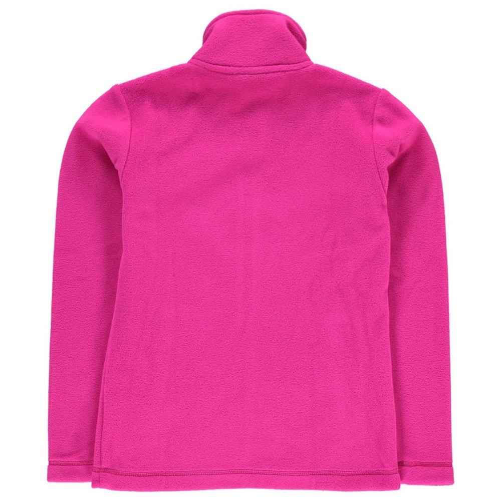 GELERT Girls' Ottawa Fleece Jacket - BRIGHT PINK
