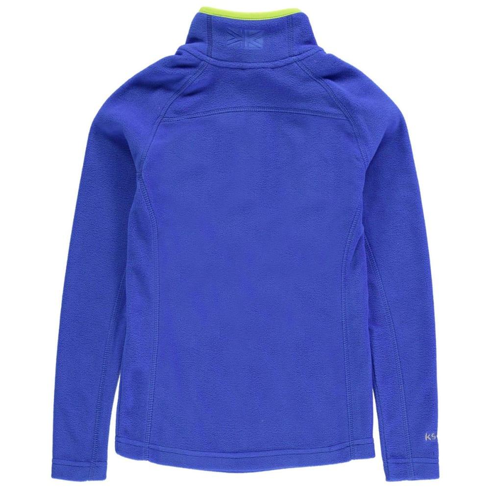 KARRIMOR Boys' Microfleece Pullover - BLUE