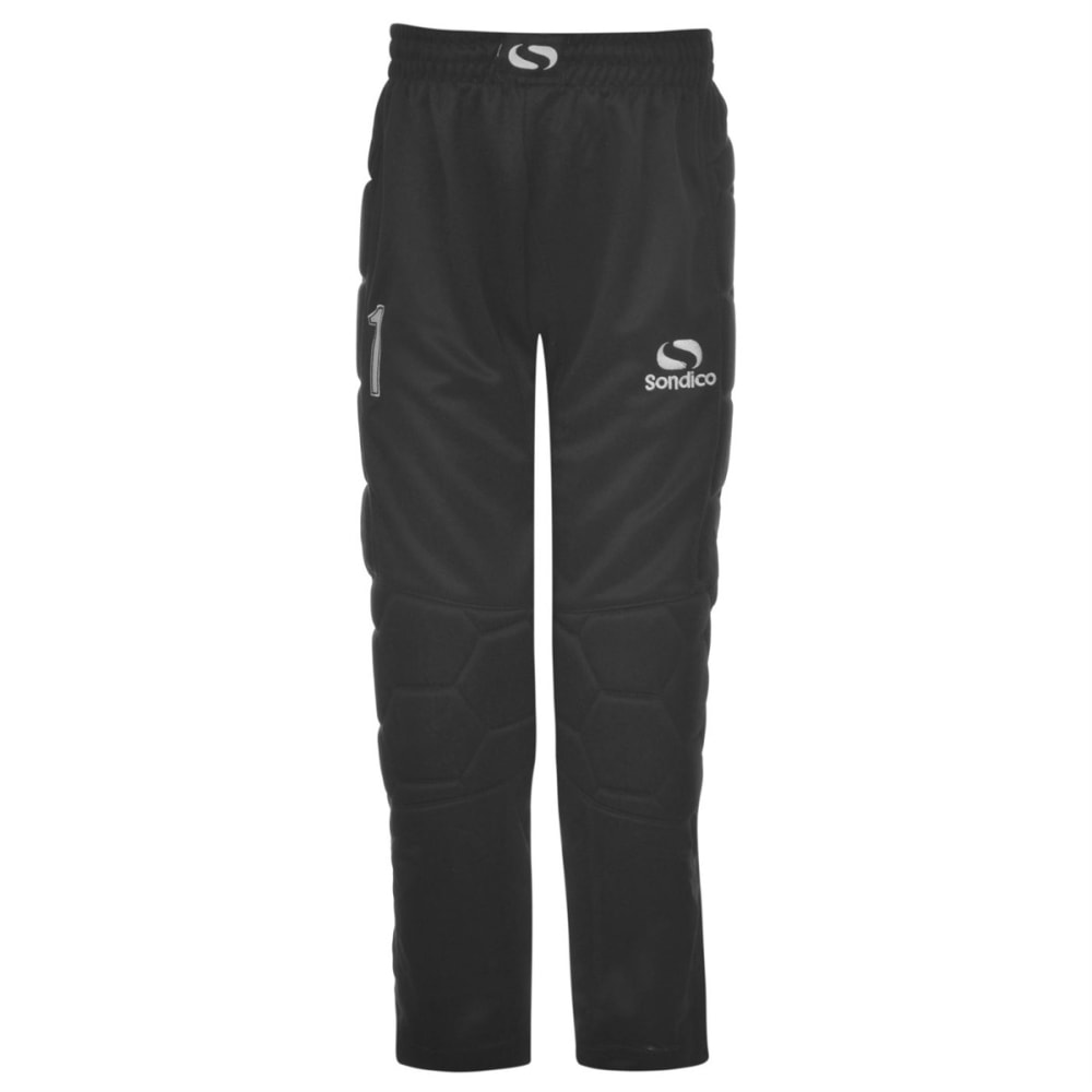 SONDICO Kids' Goalkeeper Pants - BLACK