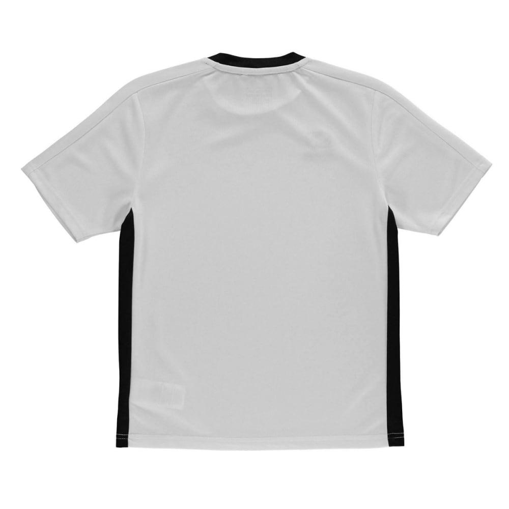 SONDICO Boys' Fundamental Short-Sleeve Tee - WHITE/BLACK