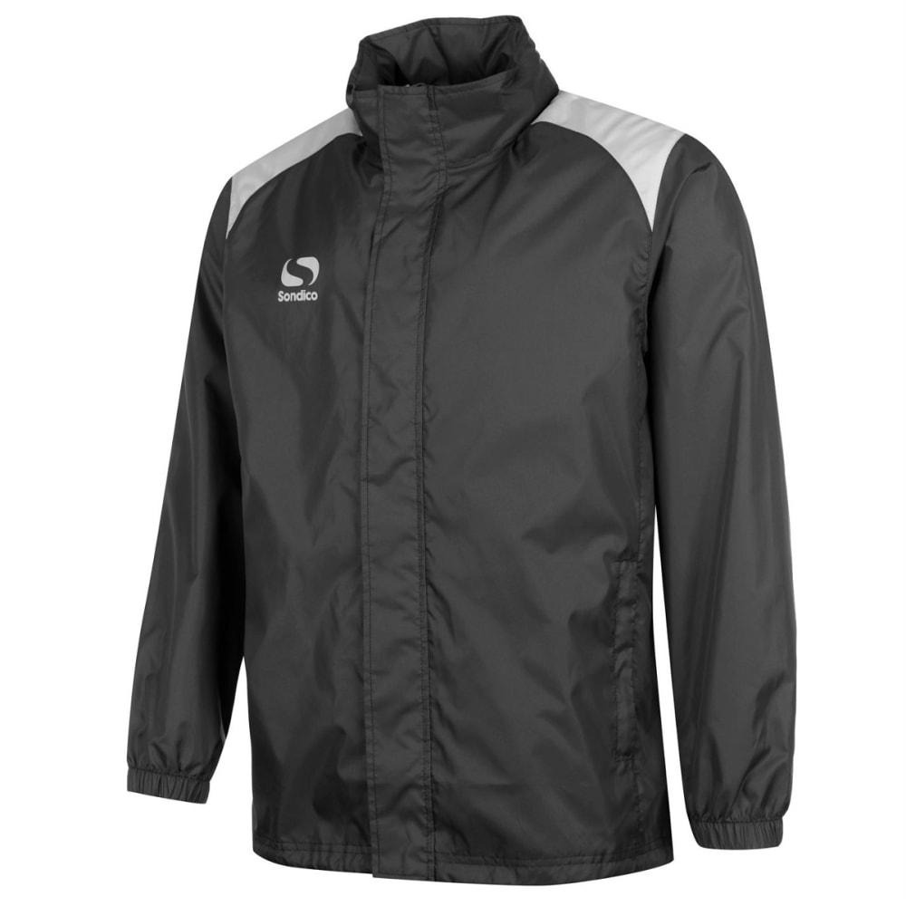 SONDICO Boys' Rain Jacket - BLACK