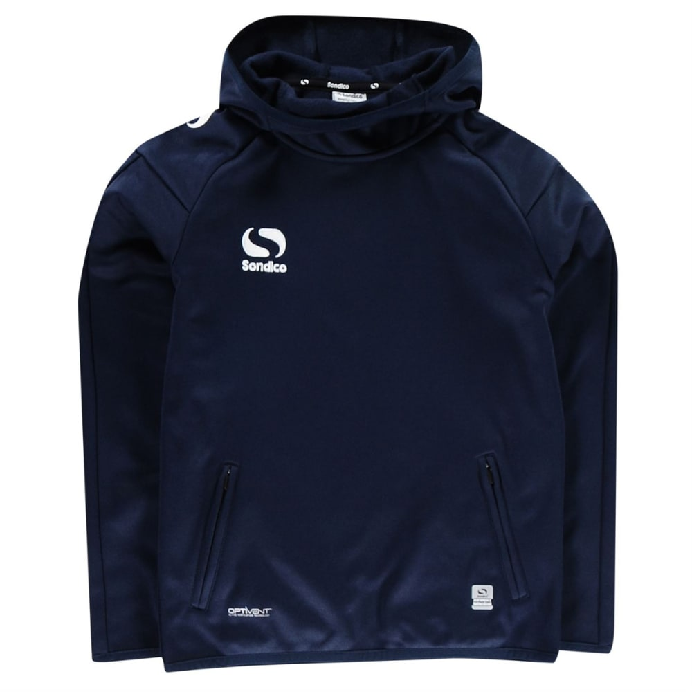 SONDICO Boys' Strike Pullover Hoodie - NAVY/WHITE
