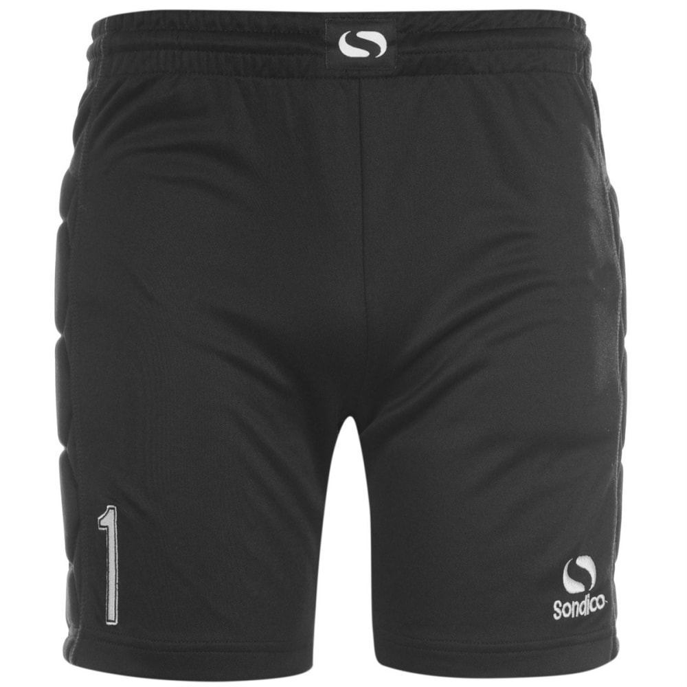 SONDICO Boys' Keeper Shorts - BLACK