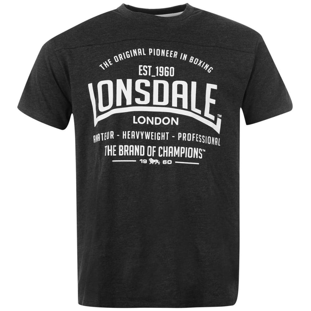 LONSDALE Men's Box Short-Sleeve Tee S