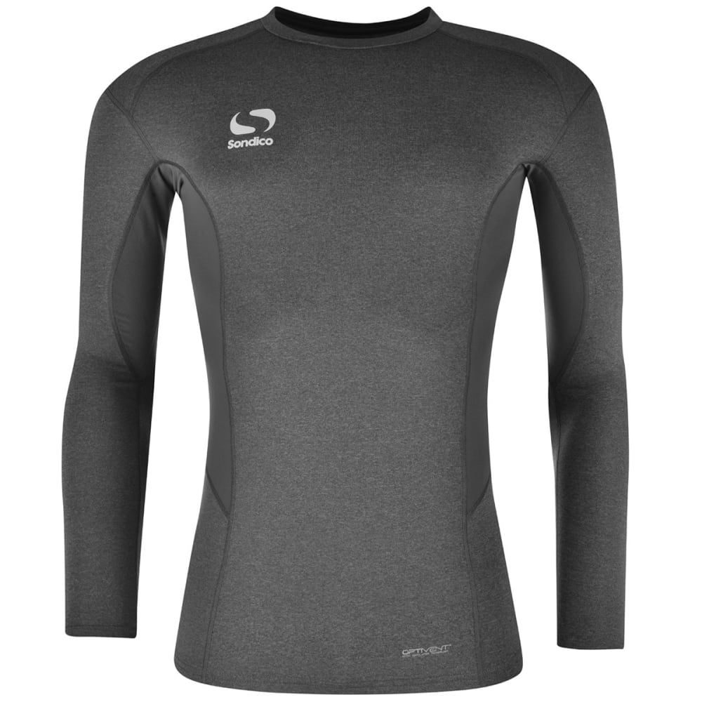 SONDICO Men's Base Core Long-Sleeve Base Layer Top XS
