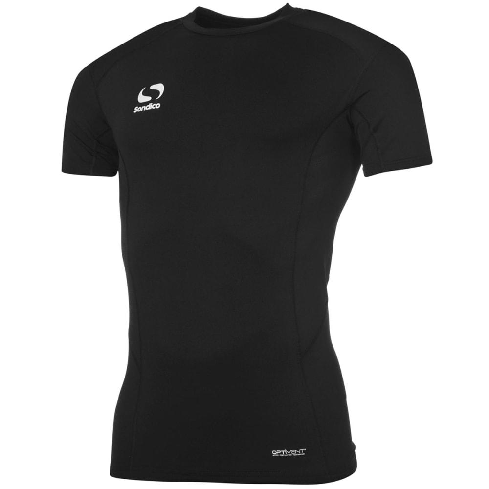 SONDICO Men's Core Base Short-Sleeve Top - BLACK