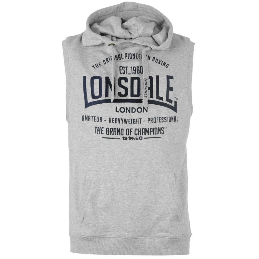 LONSDALE Men's Box Sleeveless Hoodie S