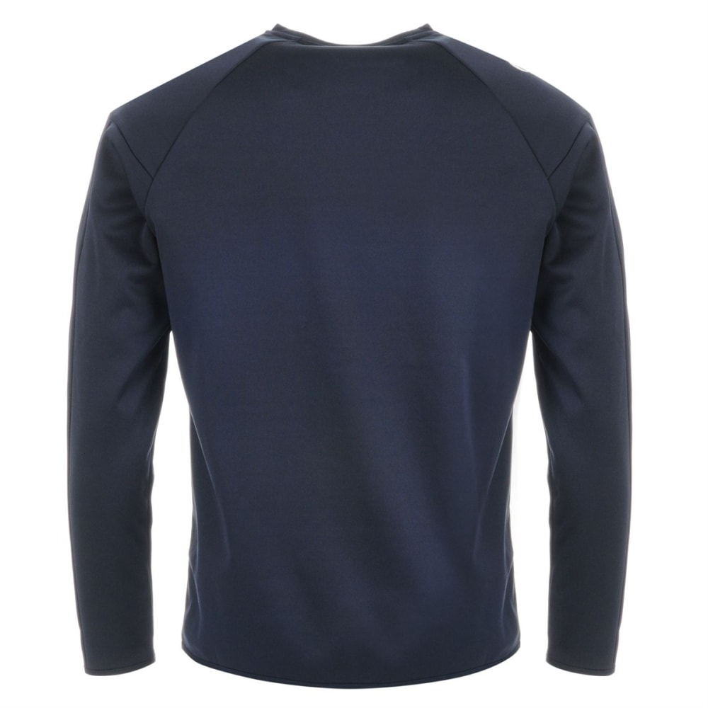 SONDICO Men's Strike Crew Long-Sleeve Pullover - NAVY/WHITE