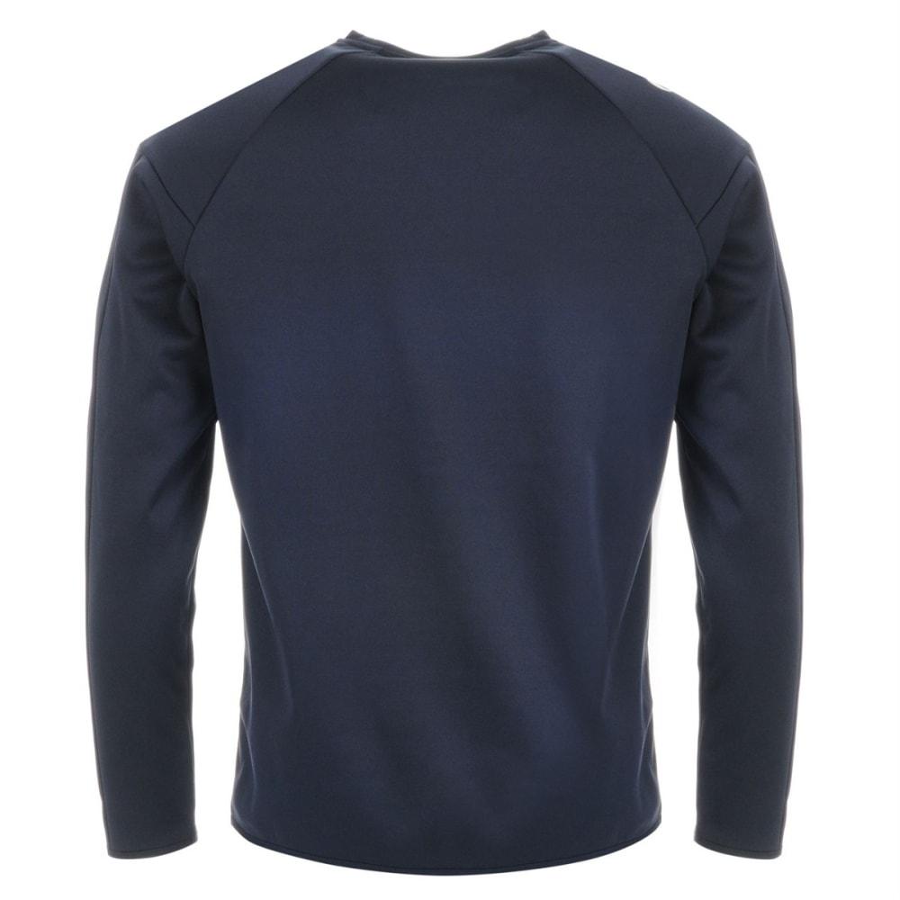 SONDICO Men's Strike Crew Long-Sleeve Pullover - NAVY/WHITE