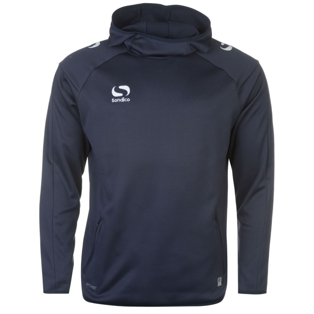 SONDICO Men's Strike Pullover Hoodie - NAVY/WHITE