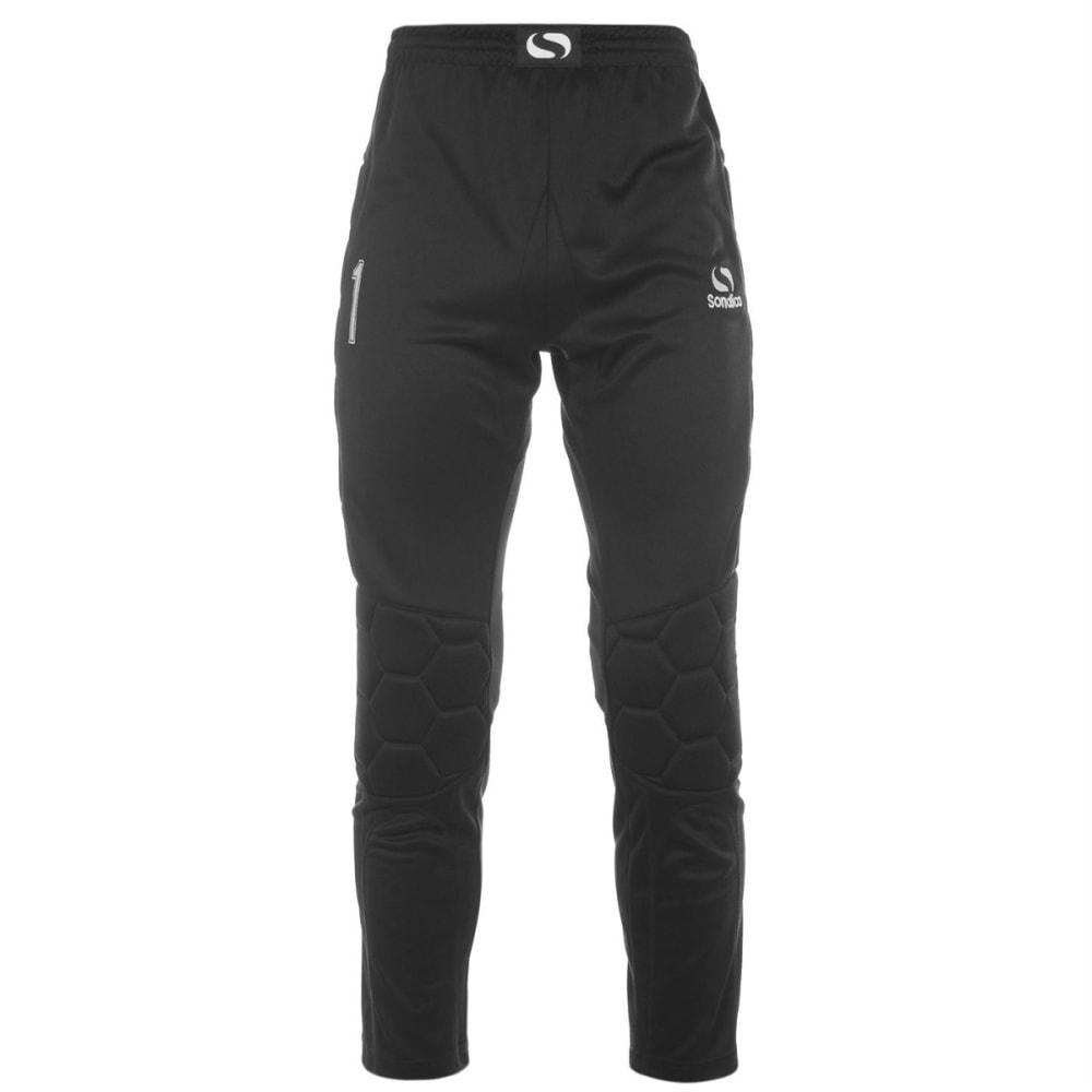 SONDICO Men's Goalkeeper Pants - BLACK