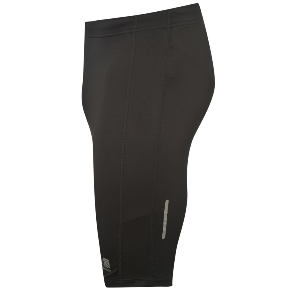 KARRIMOR Men's Short Running Tights - BLACK