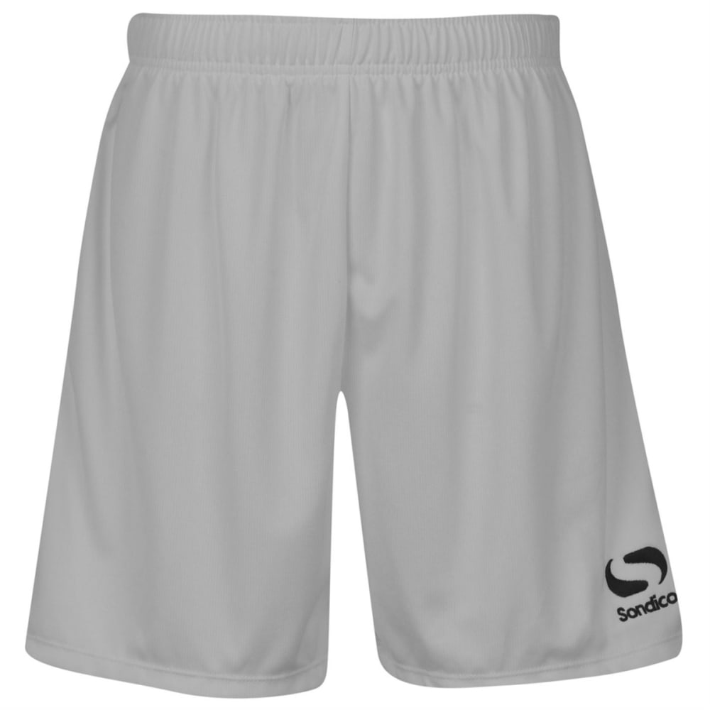 SONDICO Men's Core Soccer Shorts - WHITE