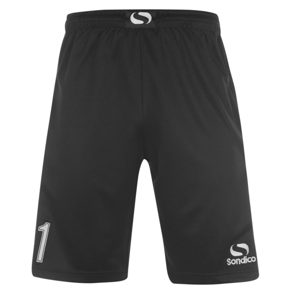 SONDICO Men's Goalkeeper Shorts - BLACK