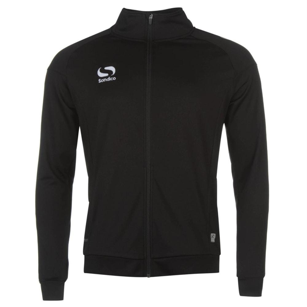 SONDICO Men's Strike Track Suit - BLACK/WHITE