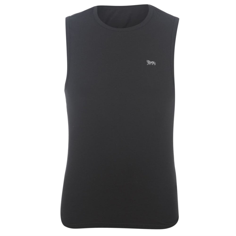 Lonsdale Men's Sleeveless Tee - Black, L