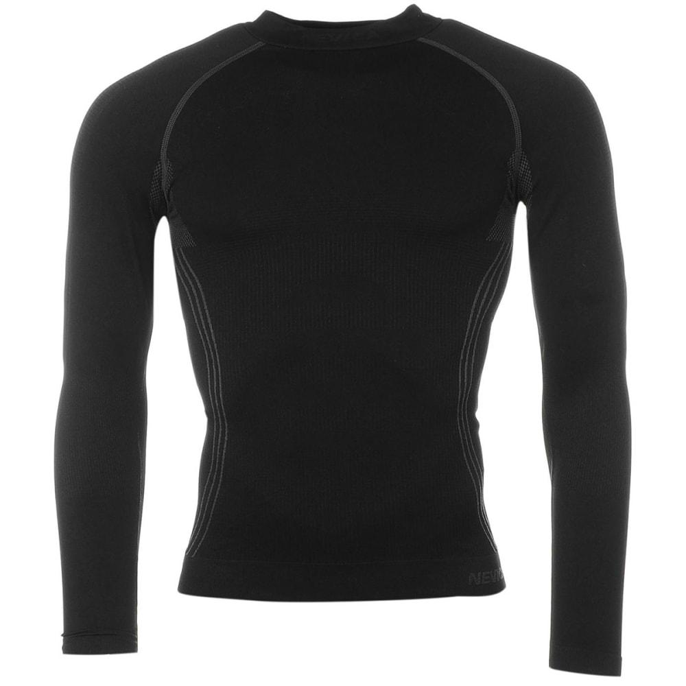 NEVICA Men's Banff Thermal Base Layer Long-Sleeve Top - BLACK