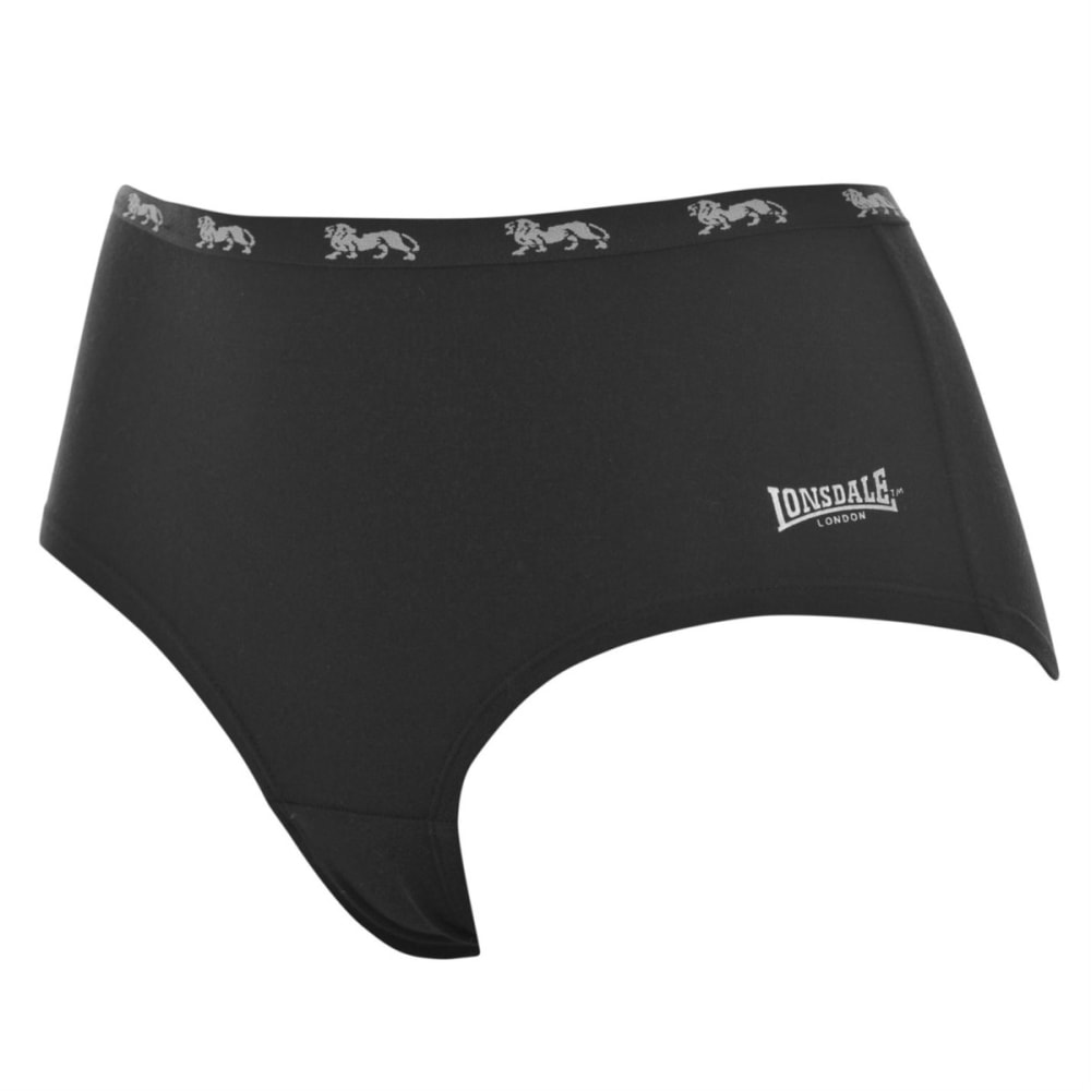 LONSDALE Women's Single Brief - BLACK